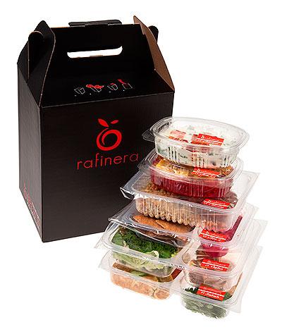 Rafinera'nın paketlerine ornek