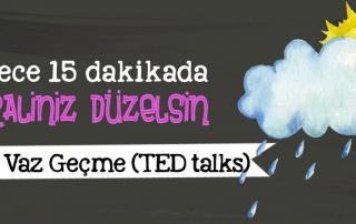Diana Nyad: Asla vaz geçme (TED talks)